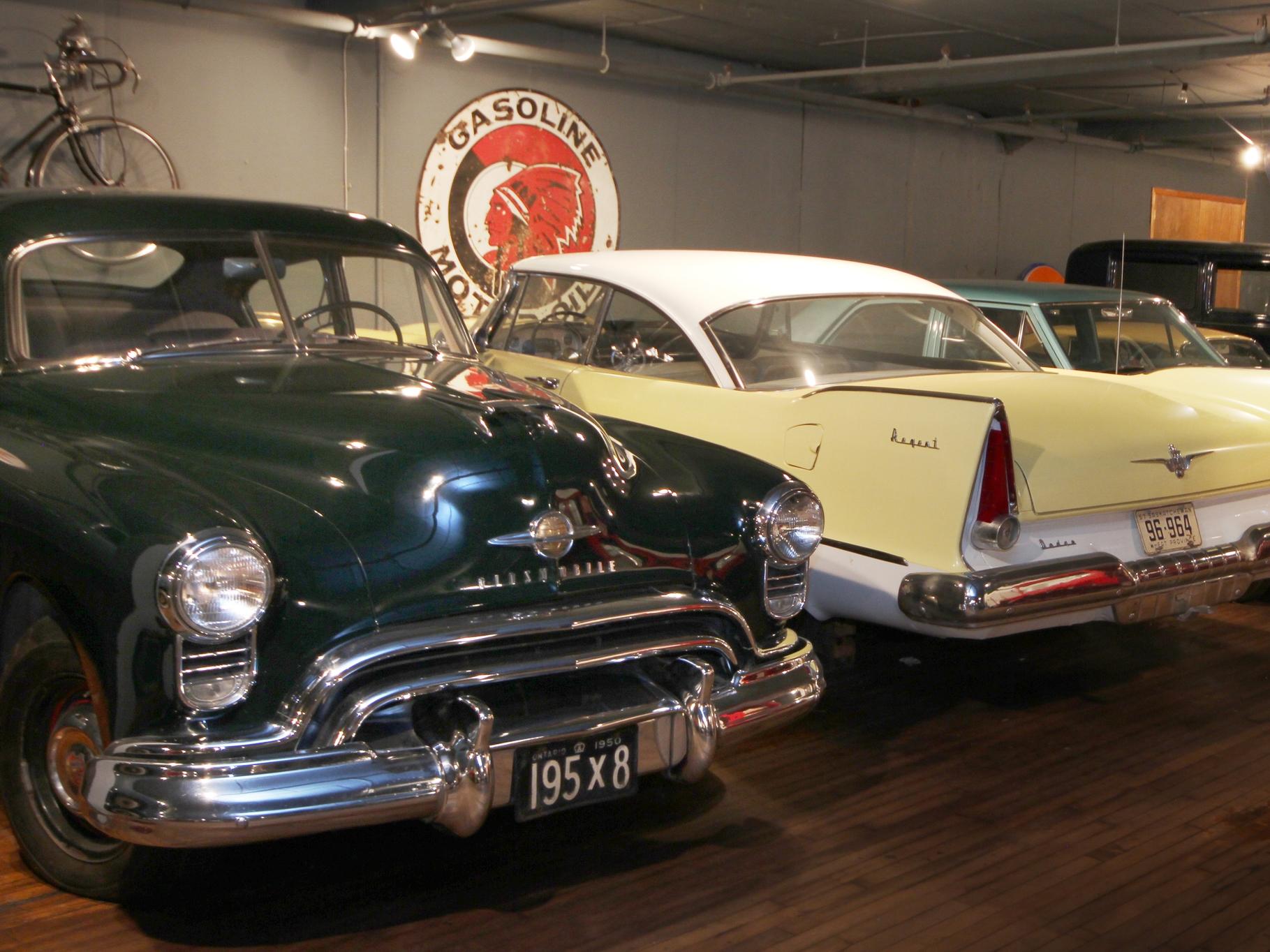 1950 Oldsmobile Futuramic and 1957 Dodge Regent