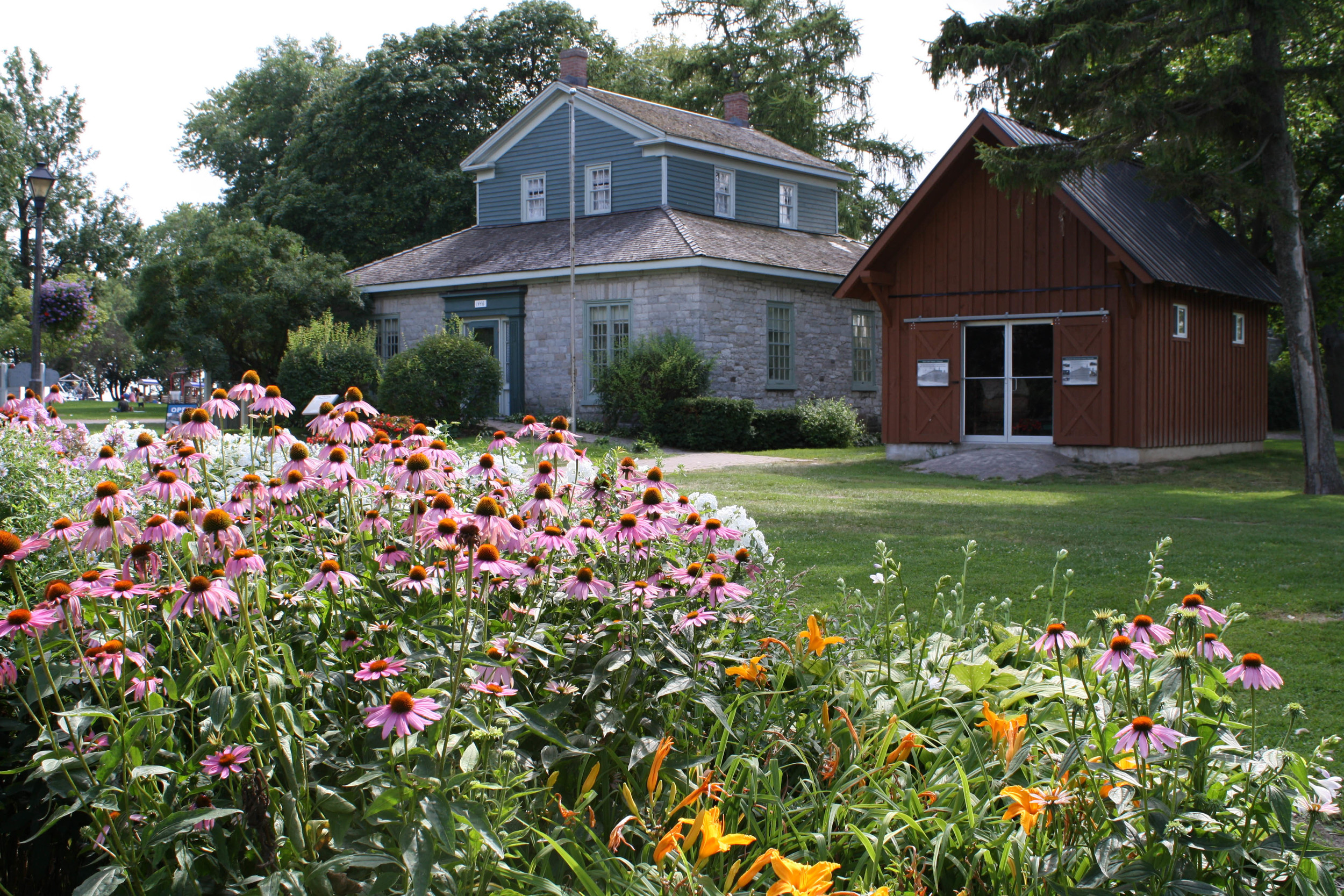 Oshawa Community Museum - located in Oshawa's Lakeview Park on the shores of Lake Ontario.