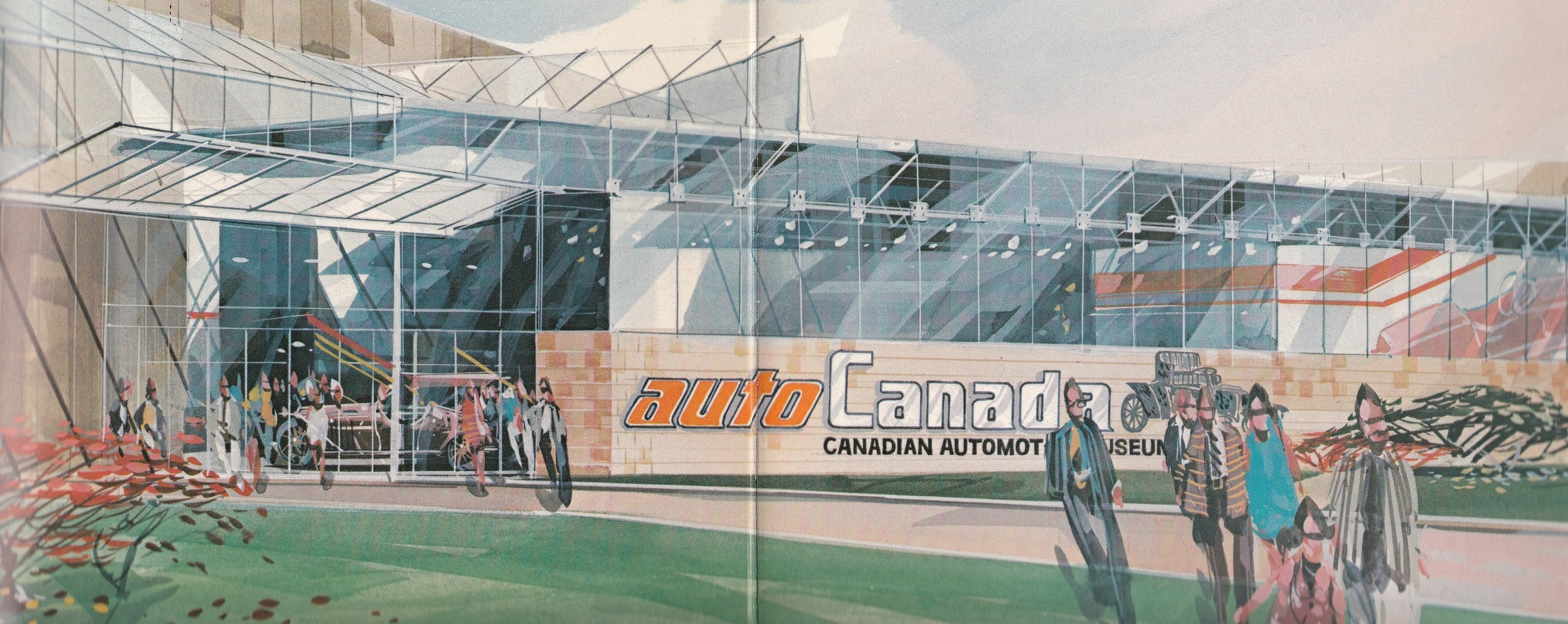 A new Canadian Automotive Museum facility, called autoCanada, was planned to open south of Bloor St. in south Oshawa.