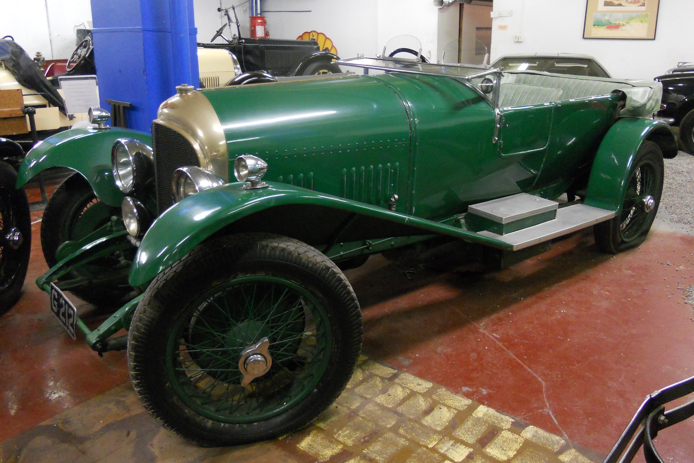1926 Bentley 3L Speed Model