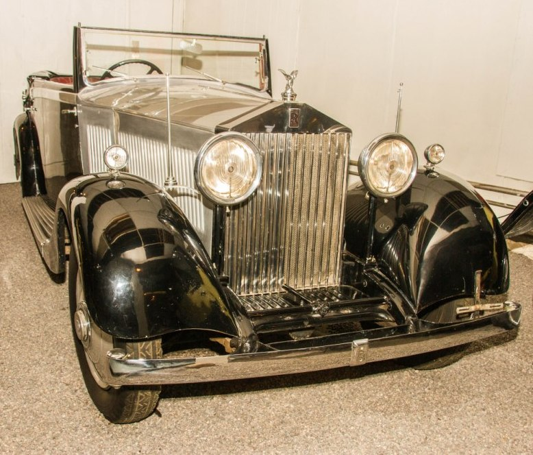 The 1934 Rolls-Royce from the collection of the Canadian Automotive Museum