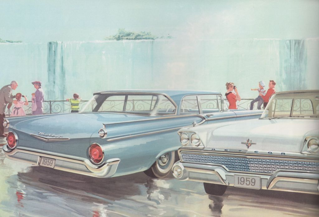 1959 Meteor - Promotional image of a Meteor Niagara, 1959. Collection of the Canadian Automotive Museum.