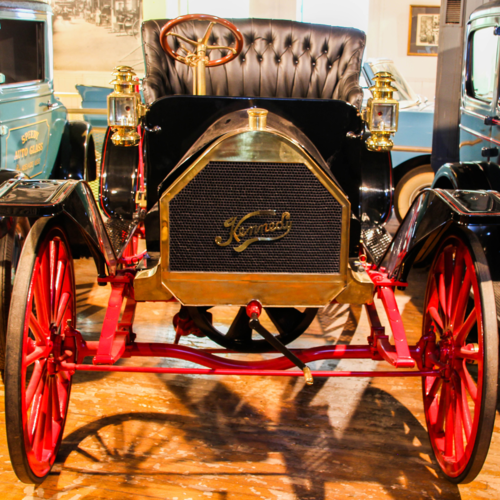 - Our 1909 Kennedy highwheeler was produced in Preston, Ontario. It is the last surviving Kennedy car of its two year run from 1909 to 1910, during which about one hundred and seventy-five 2-cylinder cars were produced. This vehicle is currently on loan to another institution. This car is currently on Loan to the Museum of Guelph