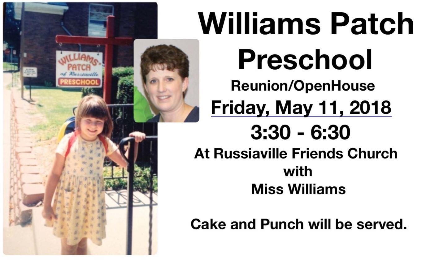 WilliamsPatchPreSchool ReunionOpenHouse.JPG