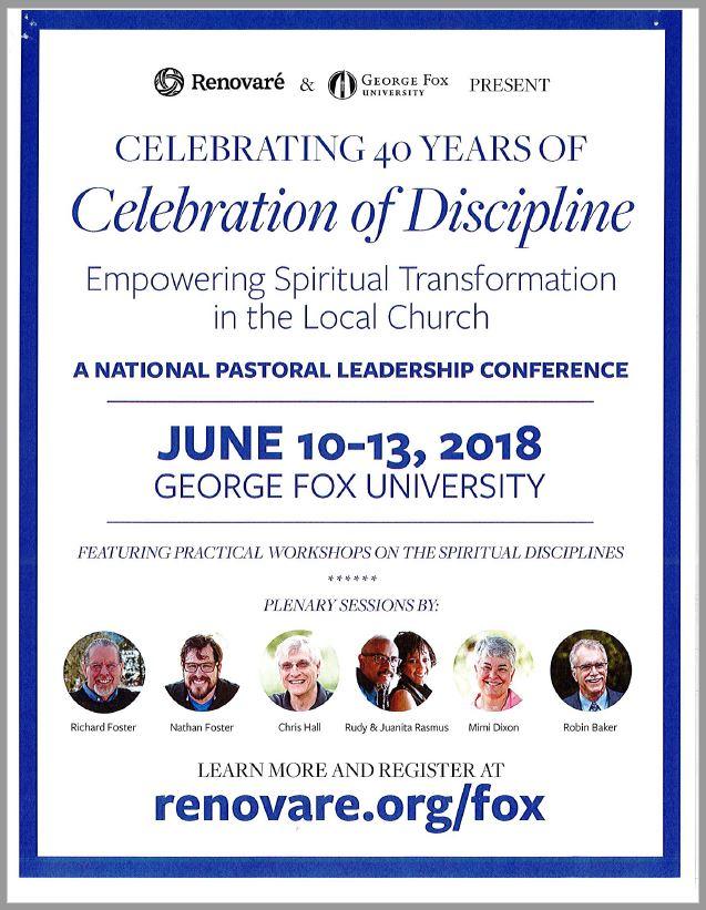 Celebration of Discipline.JPG