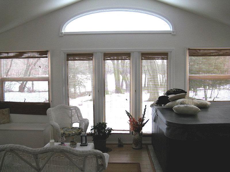 Window Unit with Half Moon