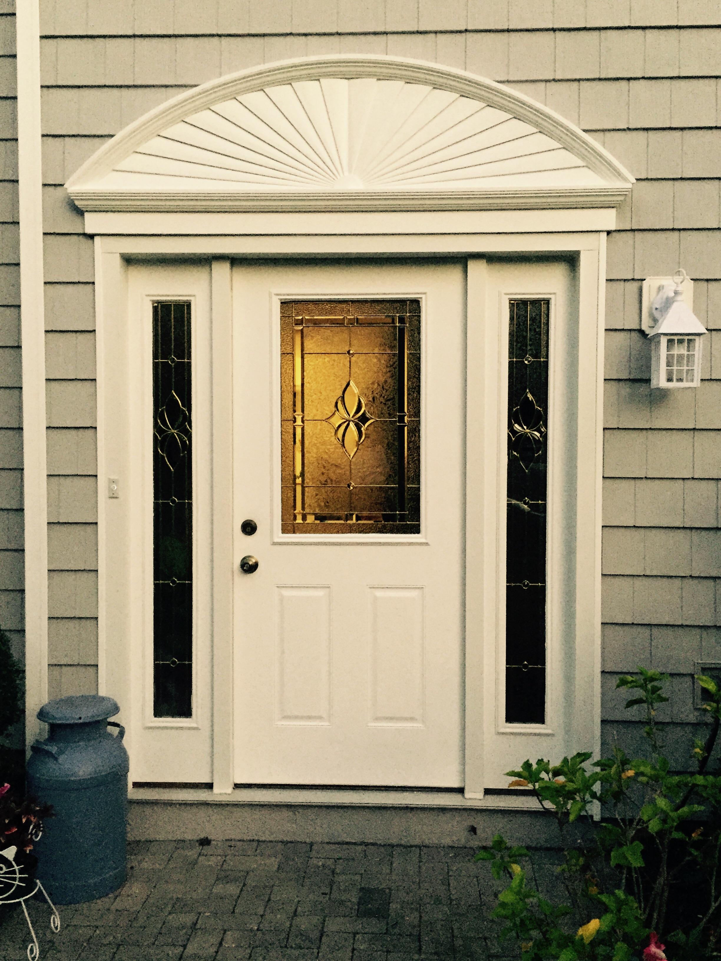 New Shake Siding and Door