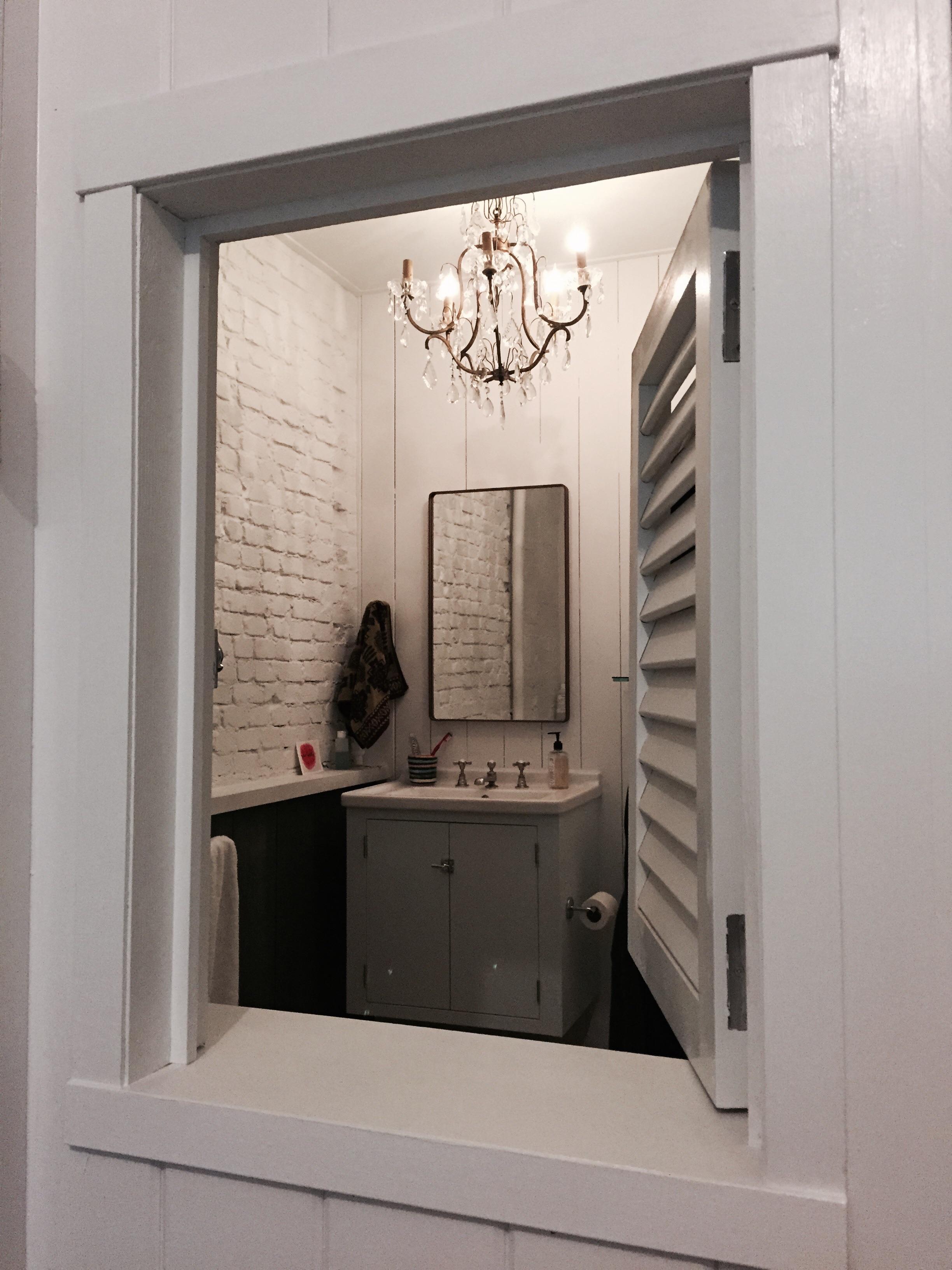 Window into Bathroom