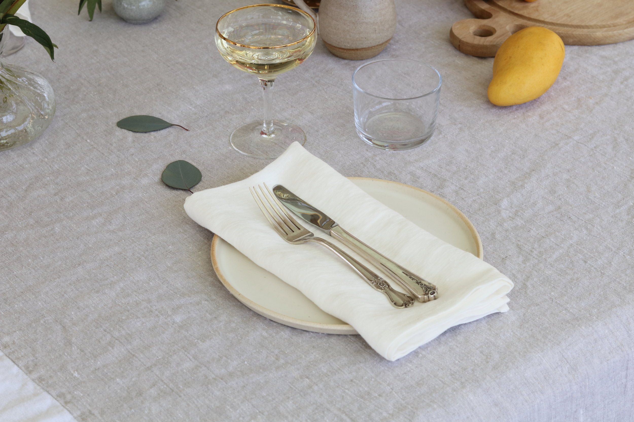Oyster White Linen Napkin Table Cloth.JPG