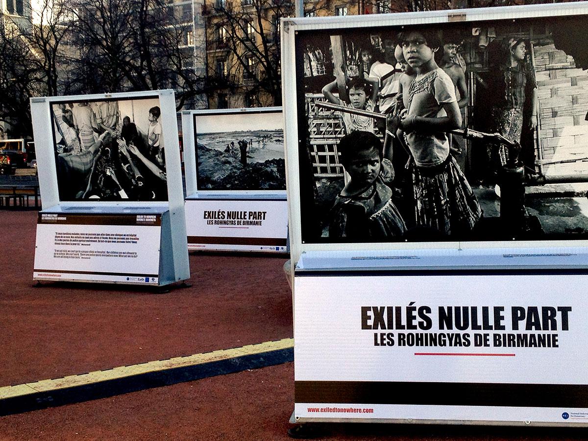 Plaine de Plainpalais - Geneva, Switzerland (Exiled to Nowhere: Burma's Rohingya)