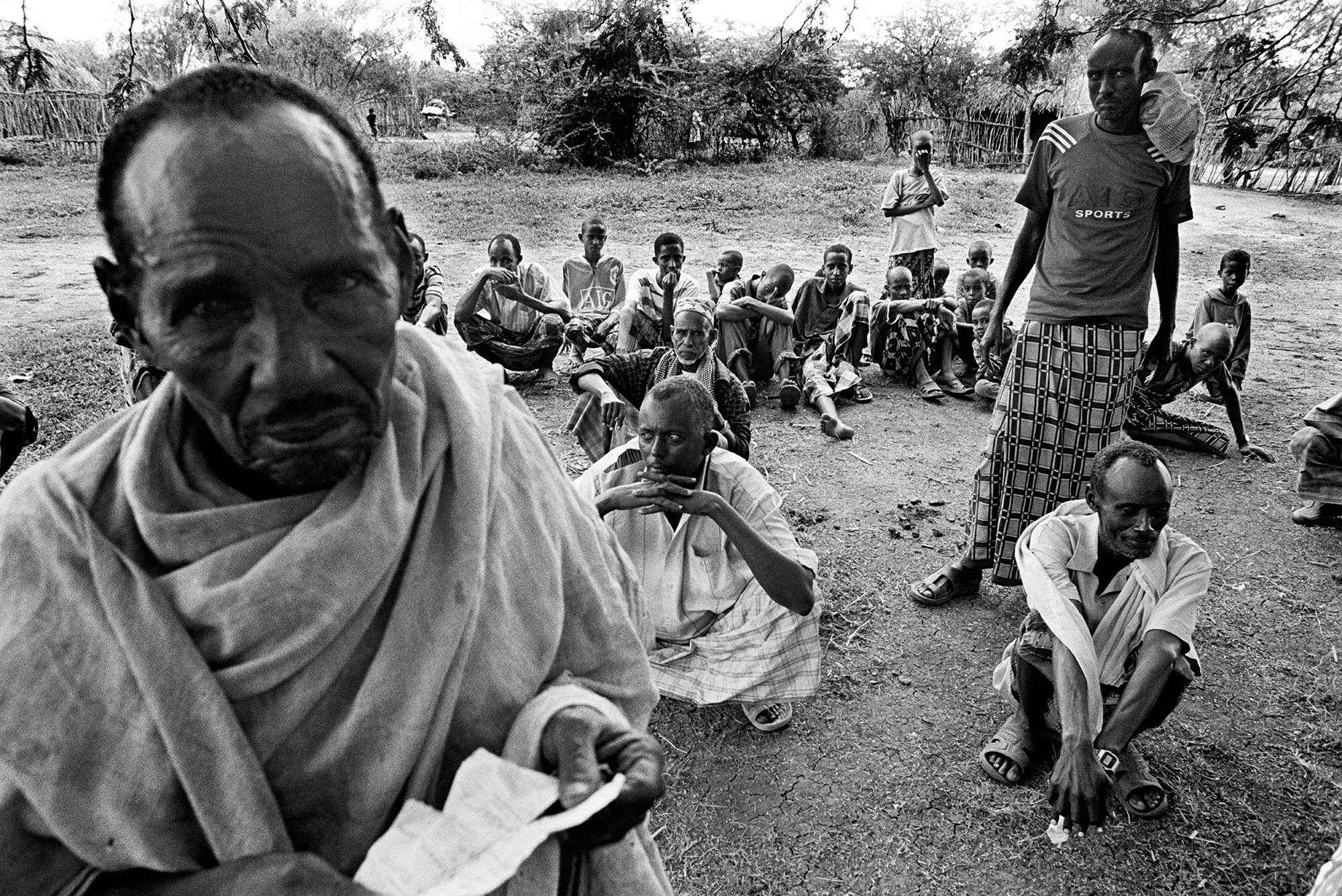 In the late 1980s and early 1990s, the Galjeel were stripped of their Kenyan identity documents and evicted from their land. All forms of identification were taken fro them and most became stateless.