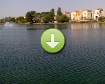 watch algae disappear from this big community lake after 2 months (click image to view)