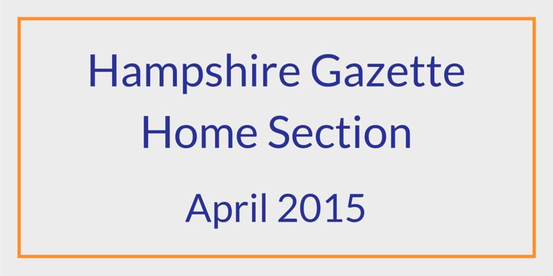 Paint Color Article Hampshire Gazette