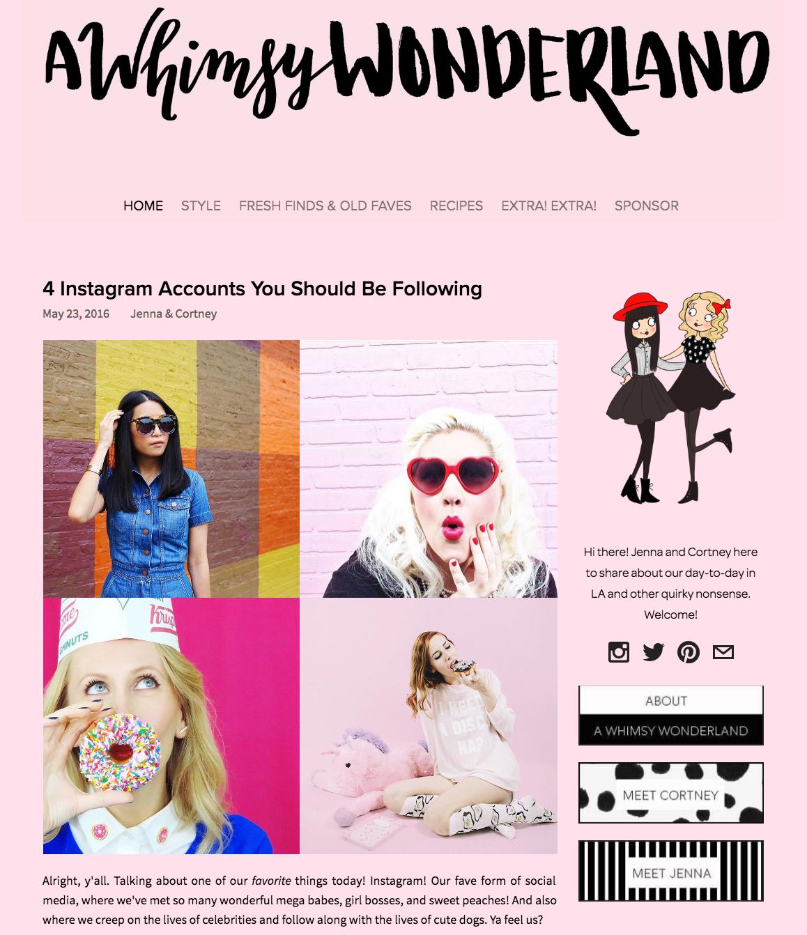 A Whimsy Wonderland