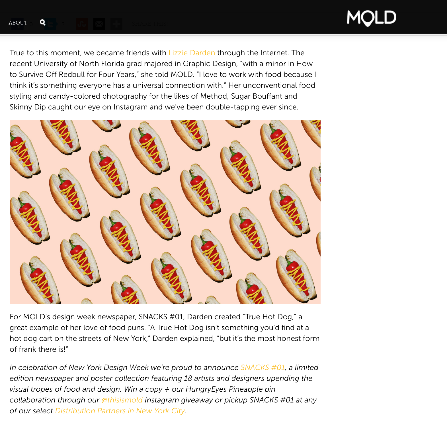 Mold Feature