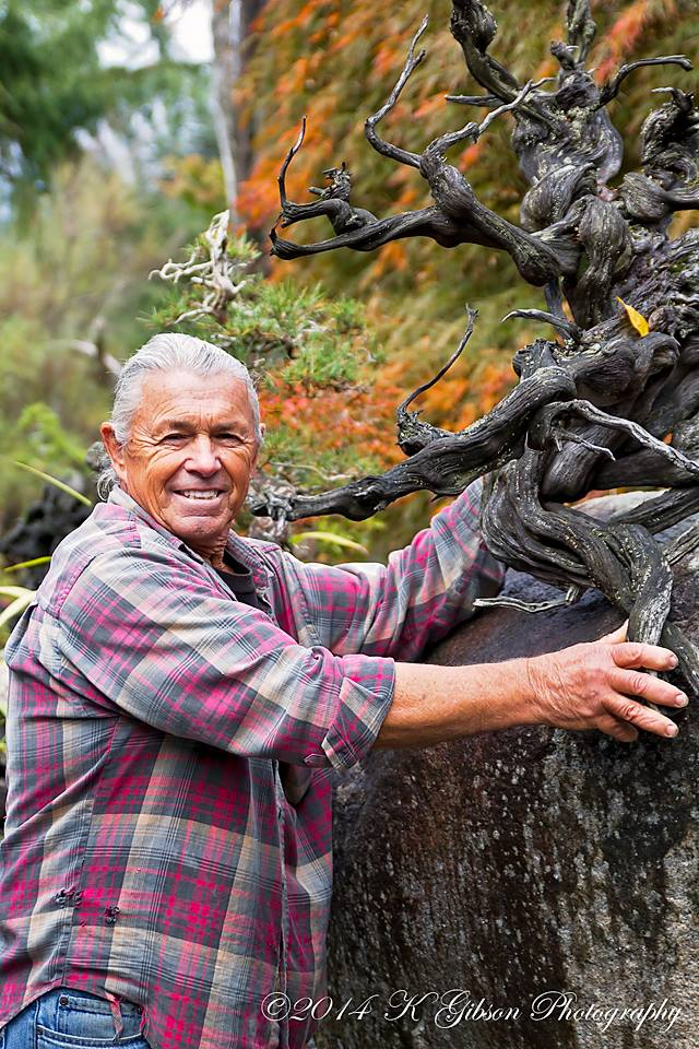 Dan Robinson, father of the american school of Bonsai