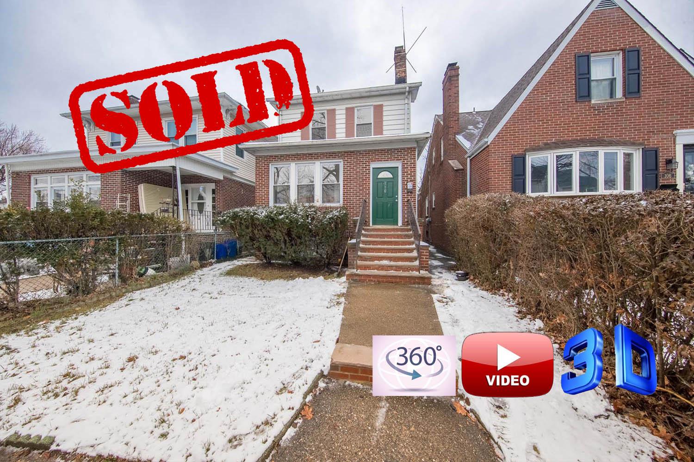 110 North 16th Street, bloomfield nj // sold