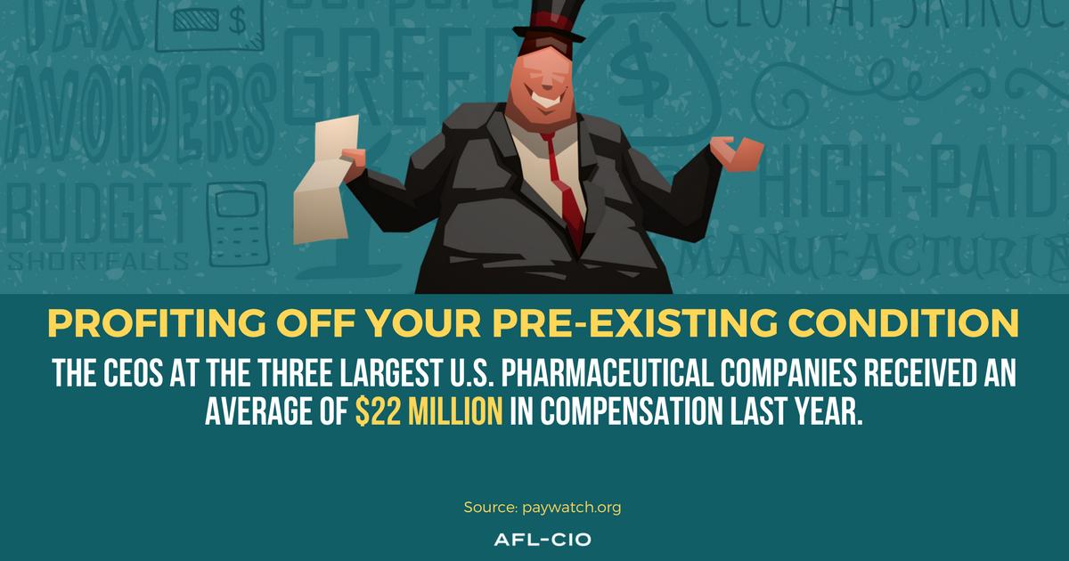 AFL-CIO's New CEO Paywatch Report -