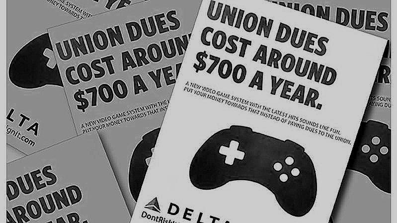 Delta's Anti-Union Tactics -