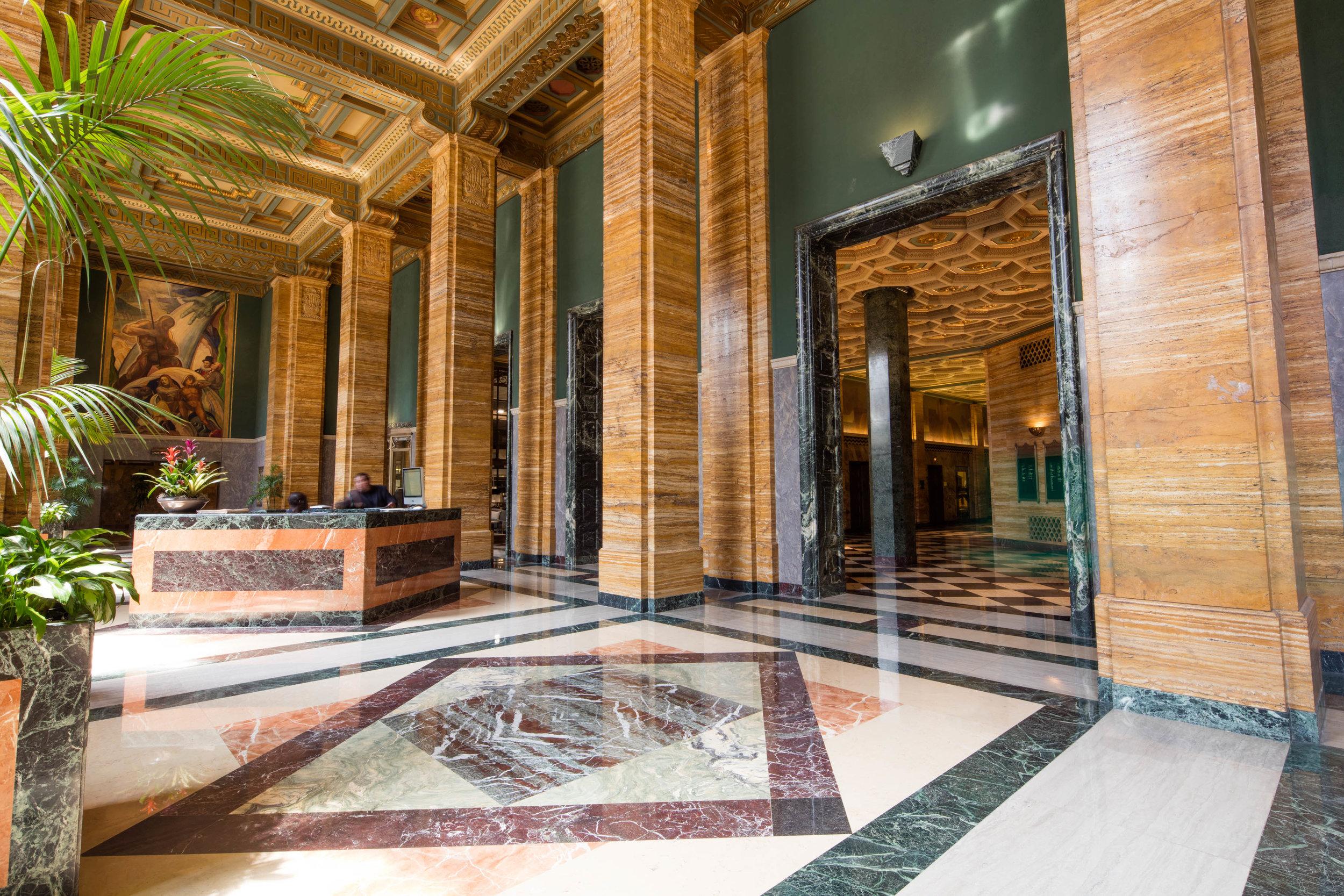 The CalEdison Lobby -  before