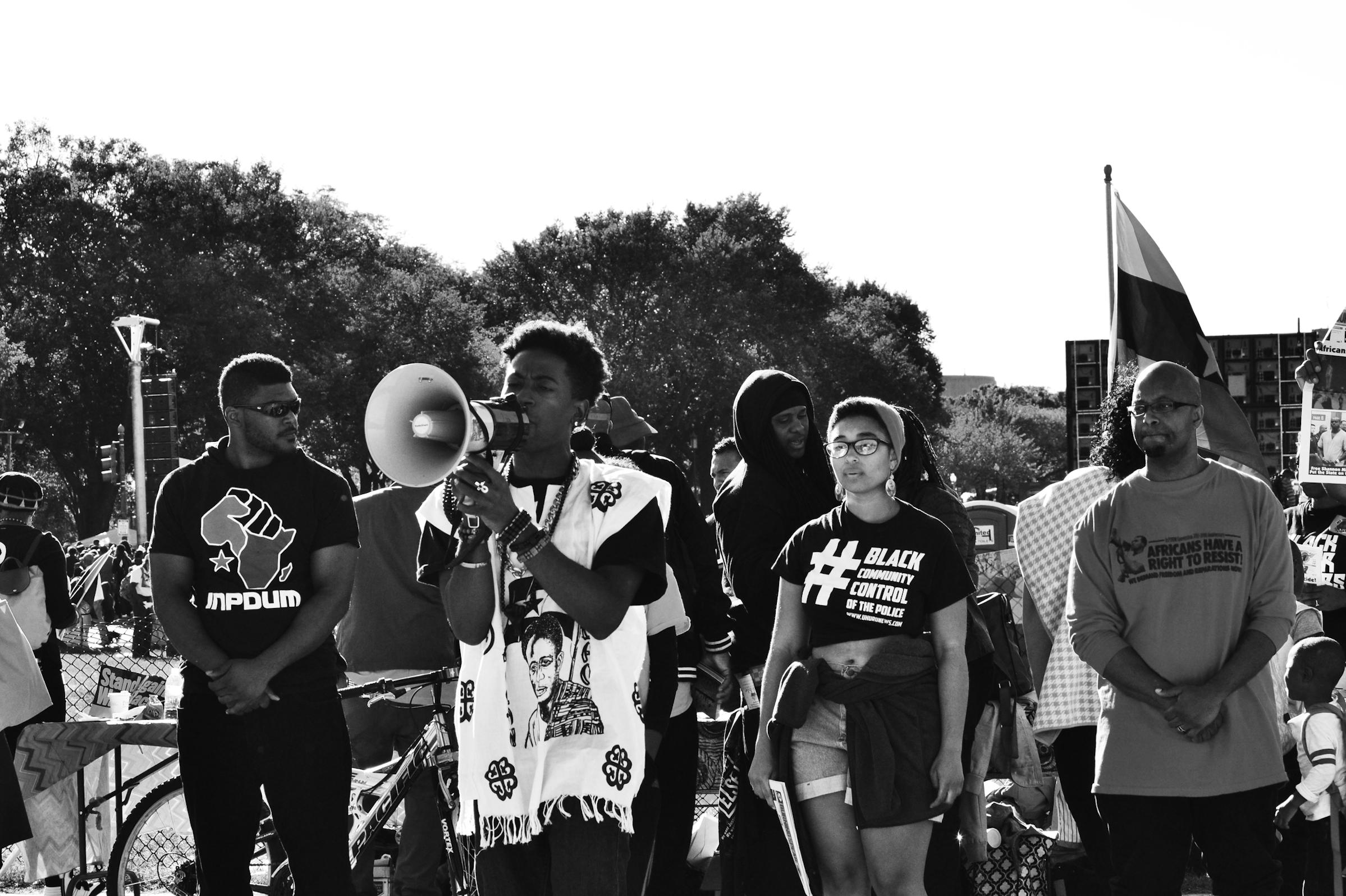 million man march dc aliana grace bailey black lives matter protestors.png