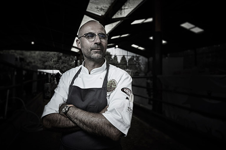Michelin Star French Chef Éric Chavot