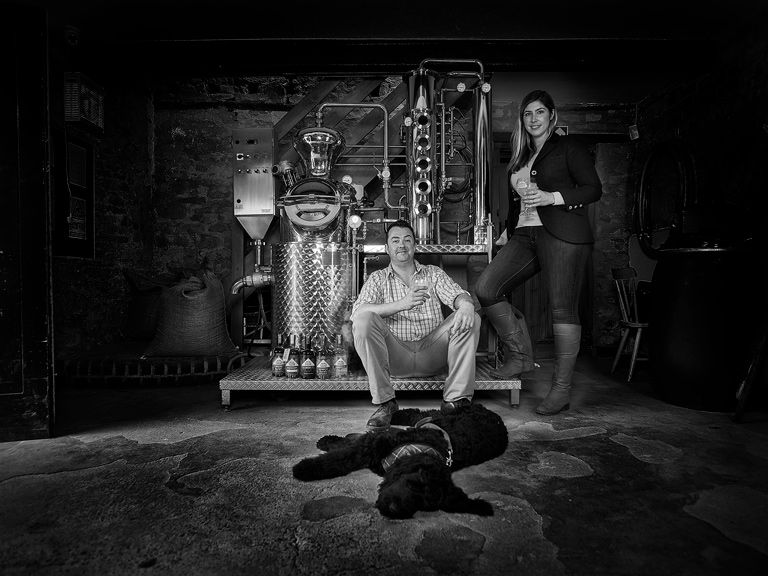Gin, Dog and Curiosity - the Gin Still.