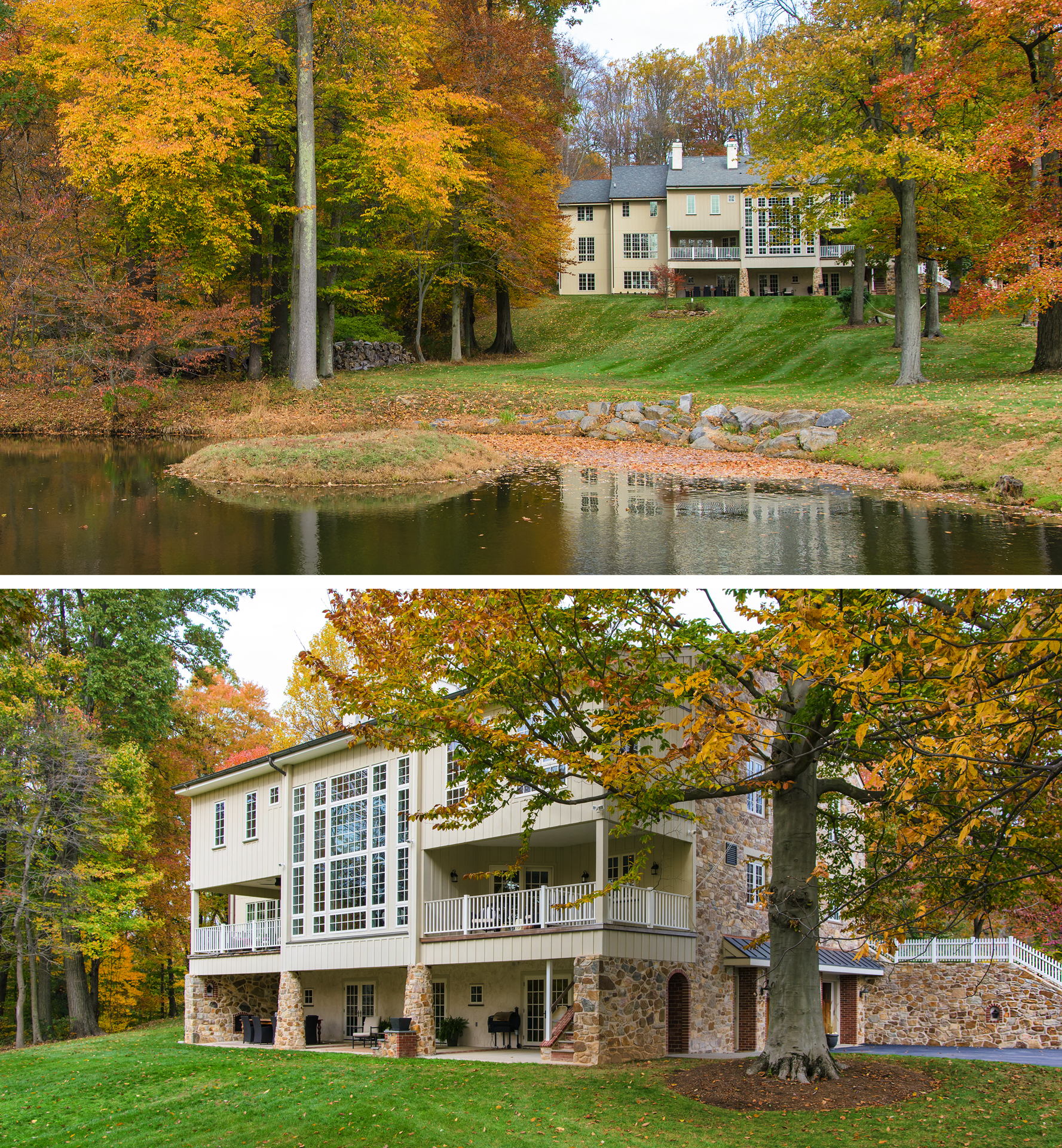 Fabulous Fall colors in Malvern, PA
