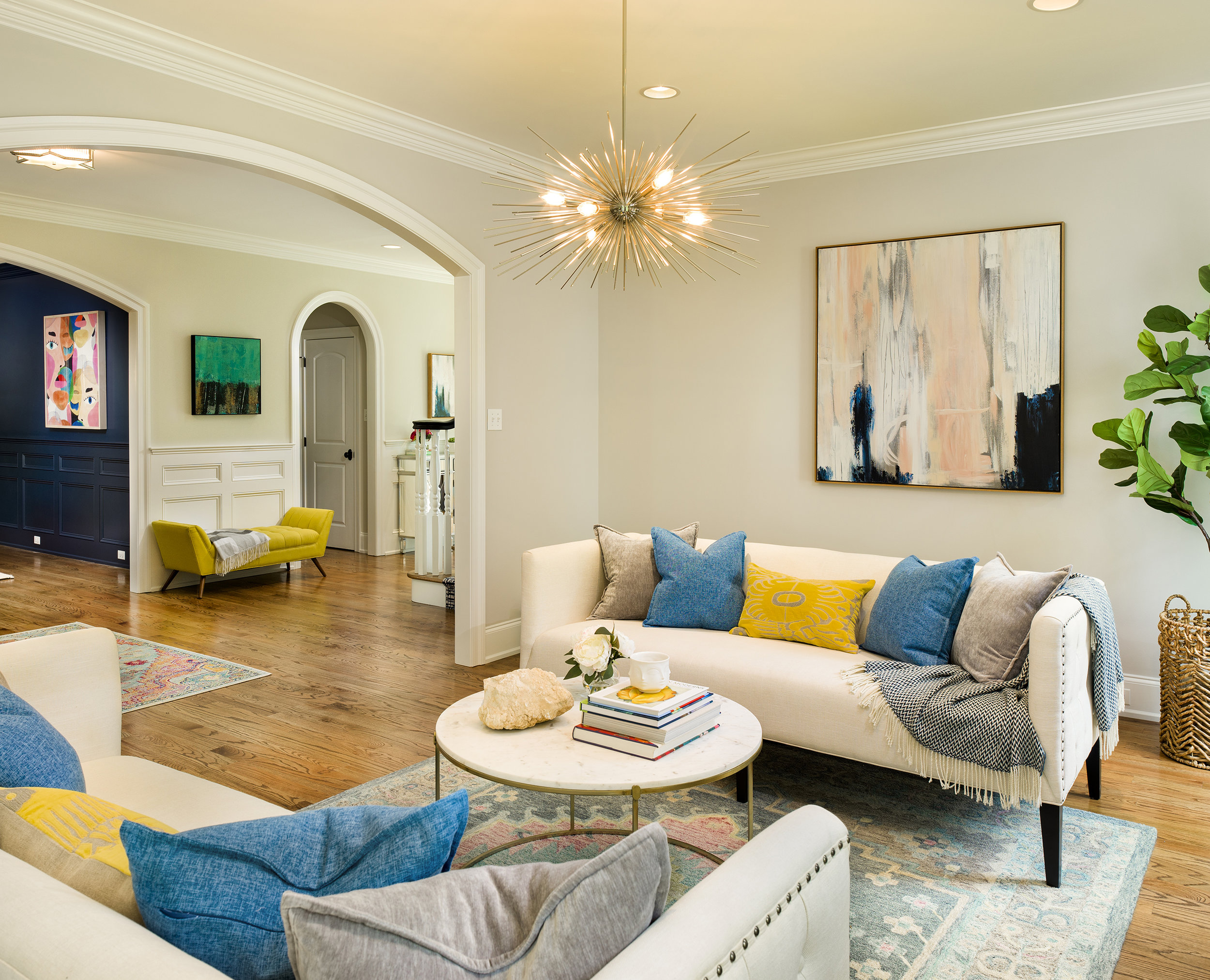 Home in Gladwyne. Design by  Home With Alexis