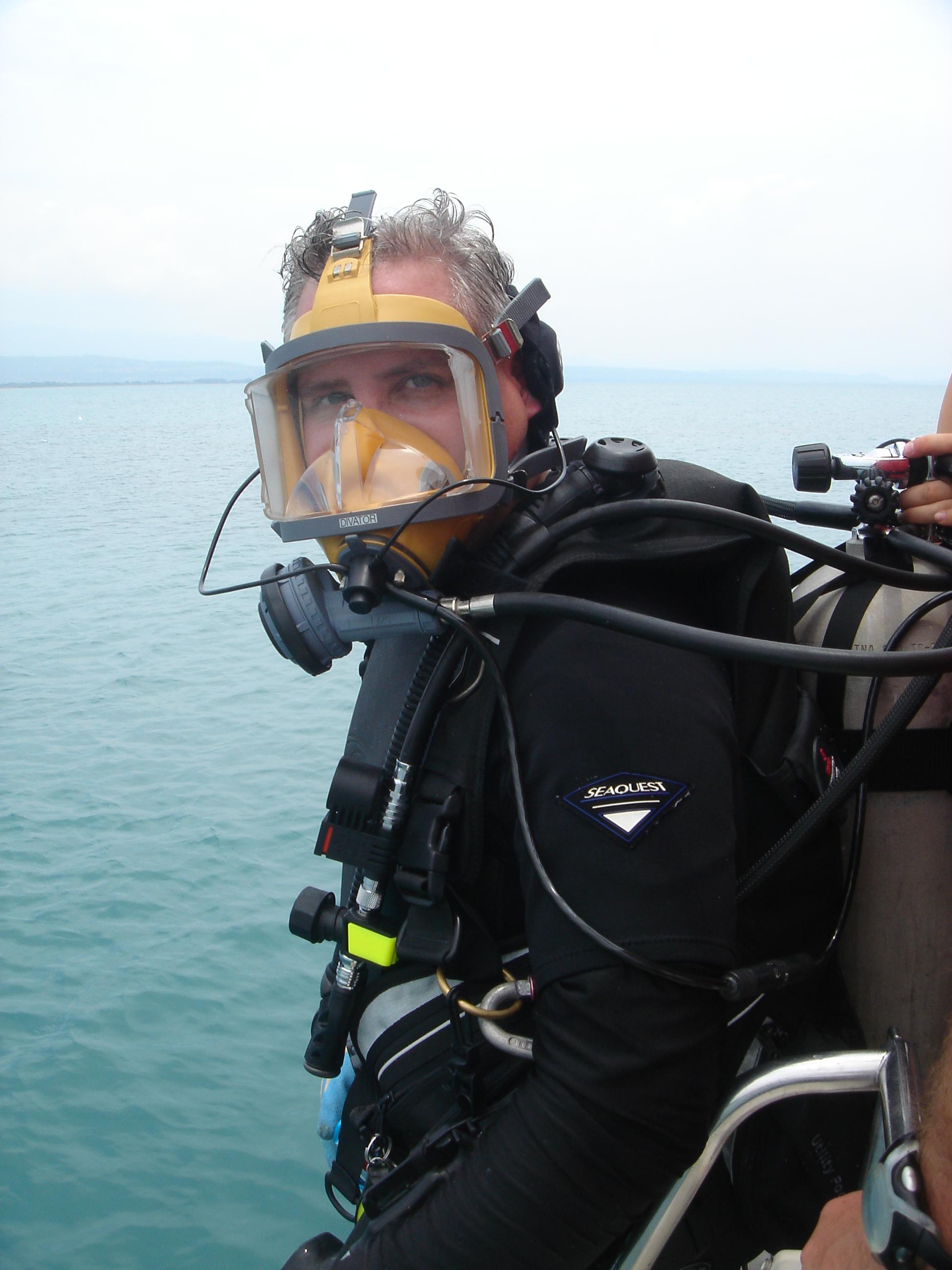 Capt (Rtd) Patrick Enlow on the Isabella Survey