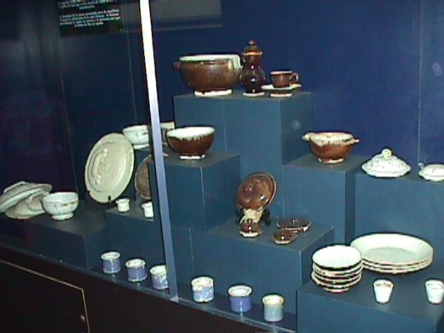 faience collection on display.jpg