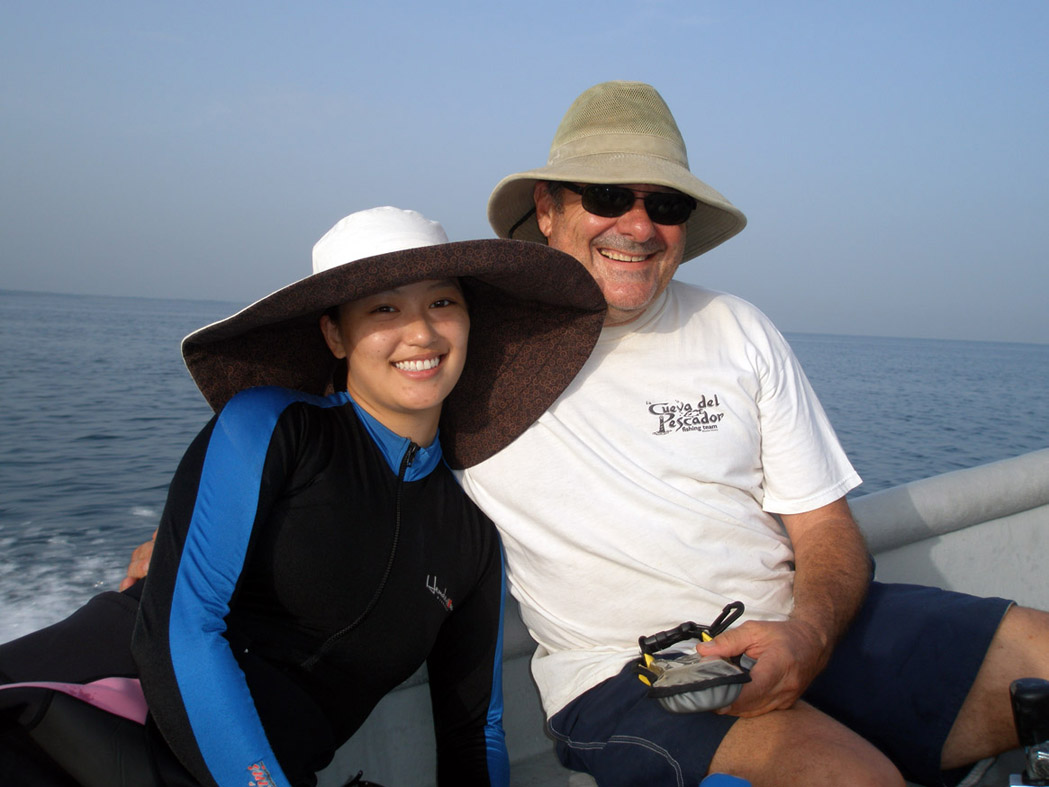 Dr. Chow and John Downing returning from   The Island Wreck