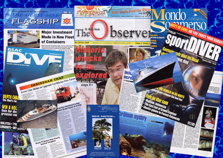 Some of the ADMAT press articles from the ADMAT St. Kitts Project.