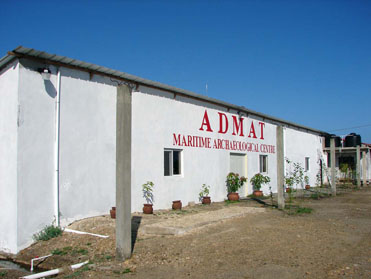 ADMAT's Maritime Archaeological Centre after extensive works.