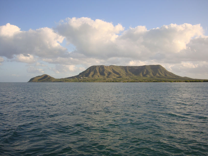 The survey area with the historic El Morro mountain behind