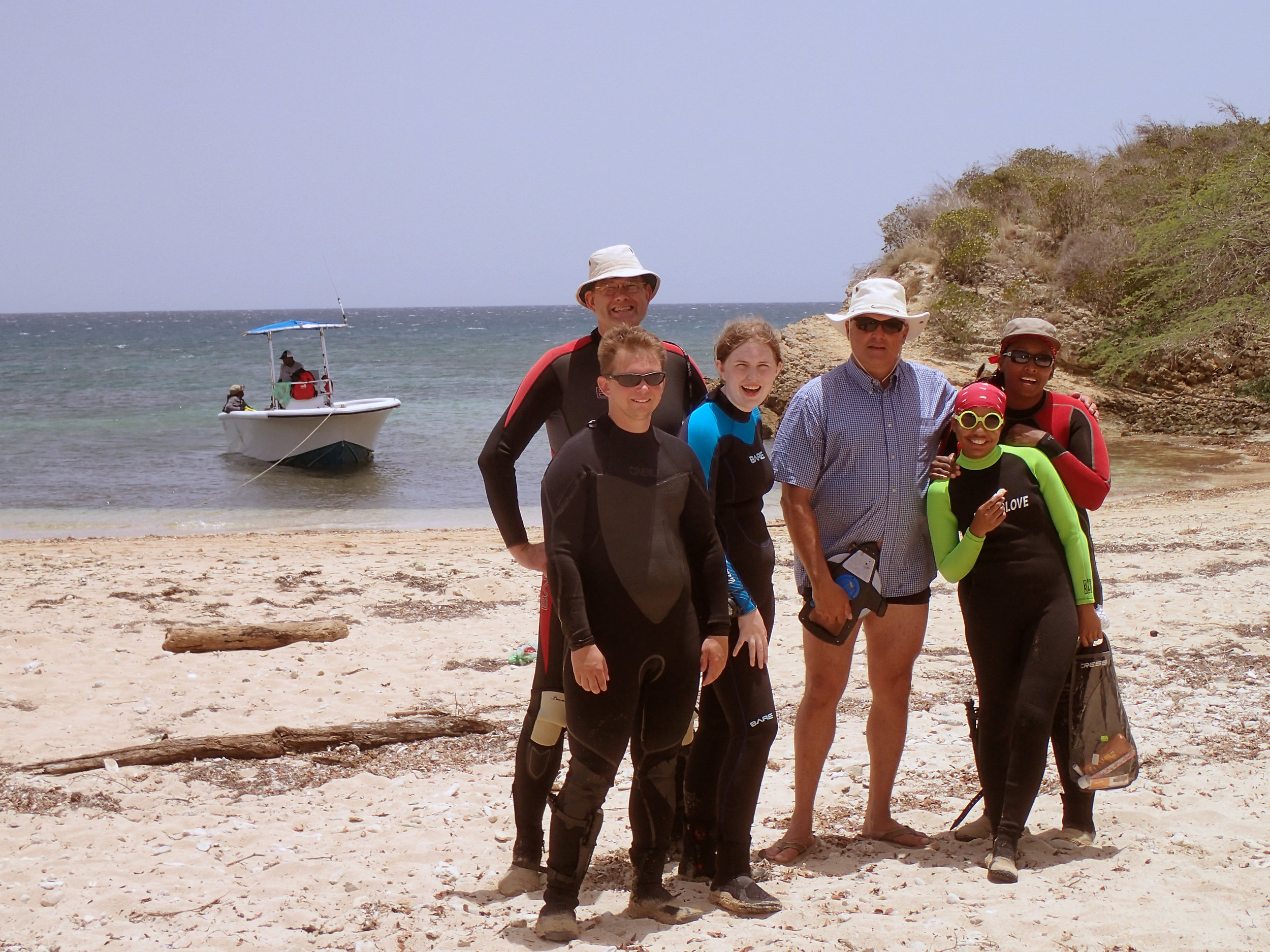 Project Leader Raimund Krob with his   Wreck One   survey Team in 2016