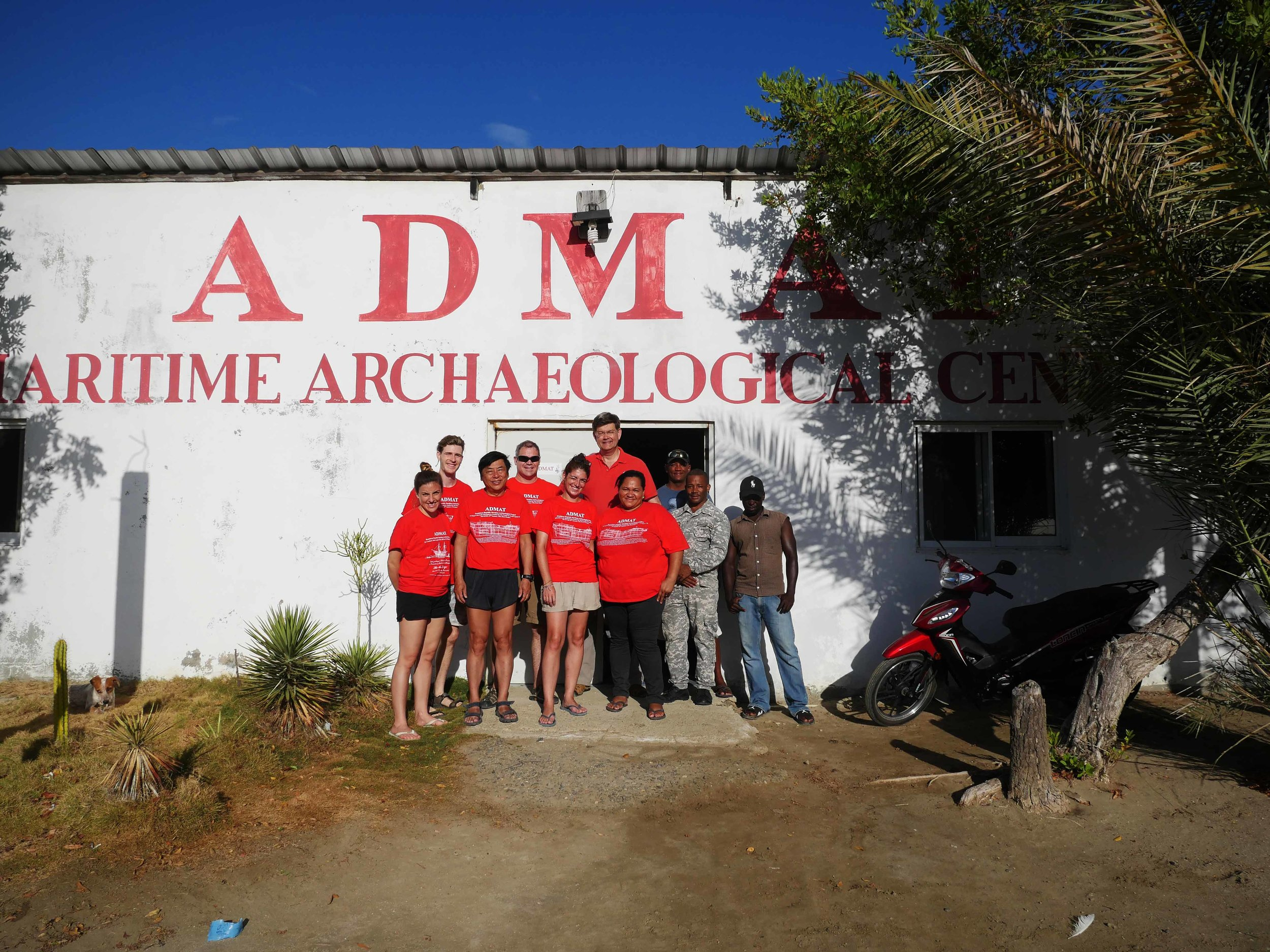 ADMAT team for weeks 1 & 2 and Dominican supports