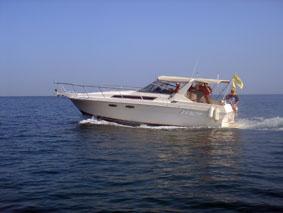 ADMAT's new survey boat   Passion   during sea trials in Monte Cristi Bay