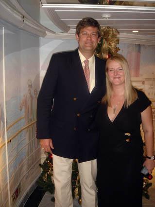 Dr Spooner and Christine Nielsen