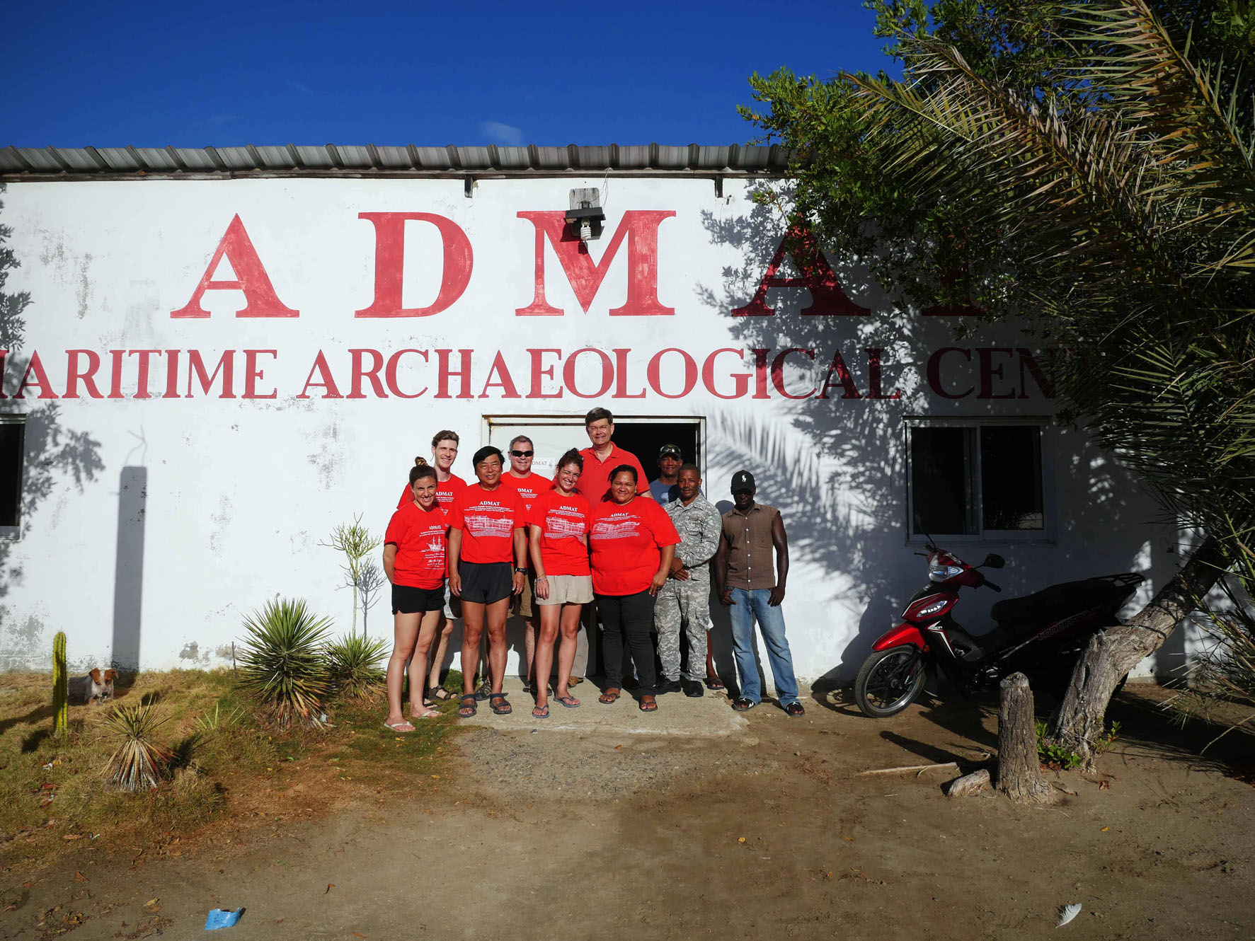 Some of the 2018   Le Dragon   Maritime Archaeological Survey Project Team