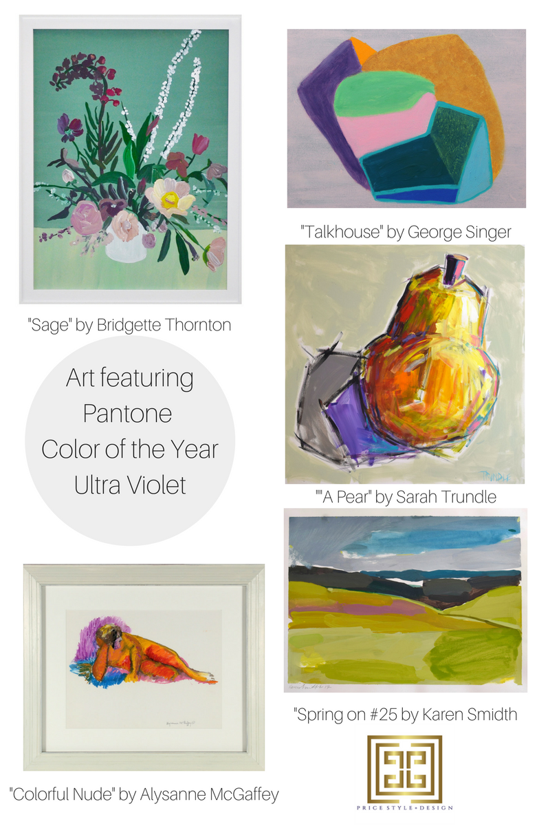 Sage by Bridgette Thornton  //  Talkhouse by George Singer  //  A Pear by Sarah Trundle  //   Colorful Nude by Alysanne McGaffey  //  Spring on #25 by Karen Smidth