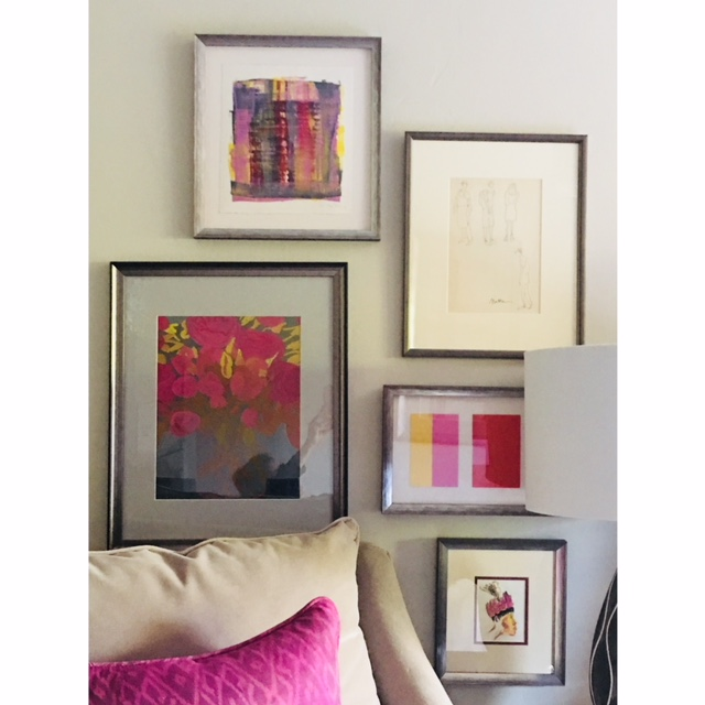 Interior Design Gallery Wall
