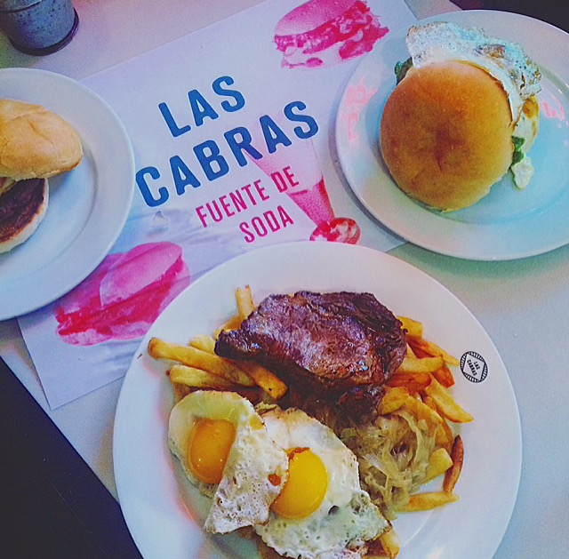 Dining and drinks at Las Cabras.