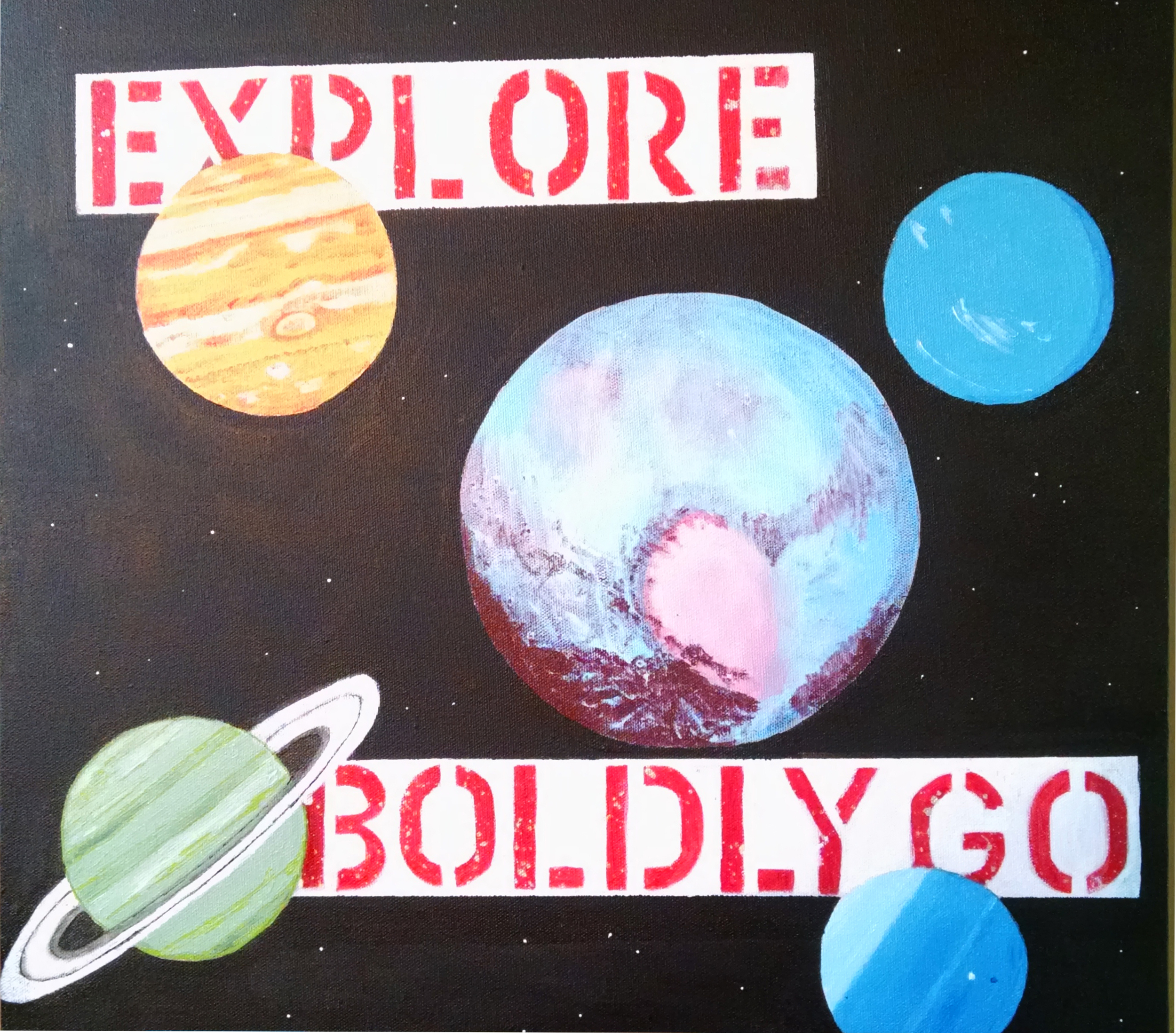 Love, Pluto  (AKA Outer Planets)