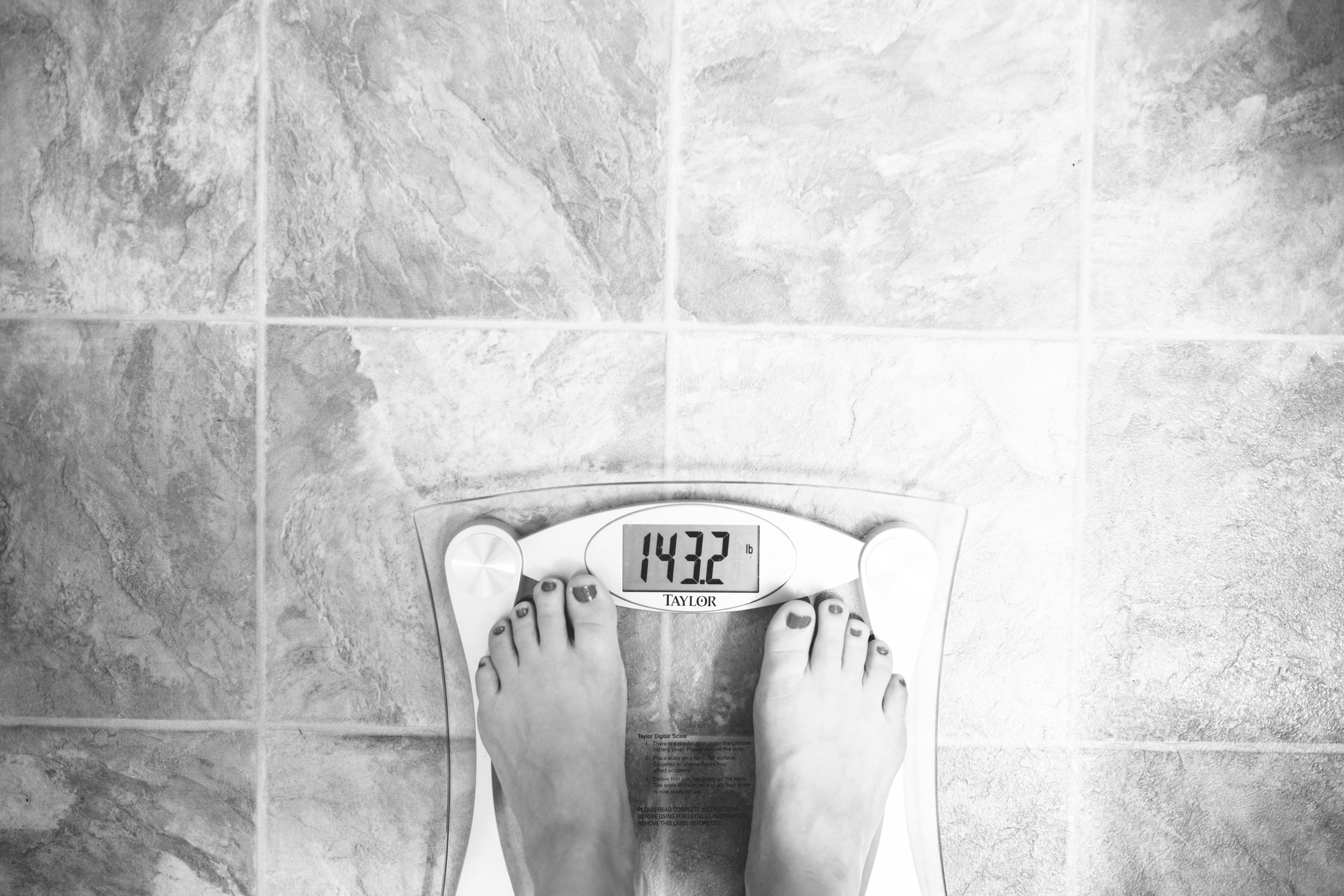 I got down to 135 from 155 because I didn't know I was a type 1 diabetic haha (you loose a lot of weight when you have high blood sugar for a long time). I really enjoyed the weight loss but I was literally dying on the inside. Happy to be a chubby pregnant person right now! I'd rather have my health in good shape than a nice number on the scale.