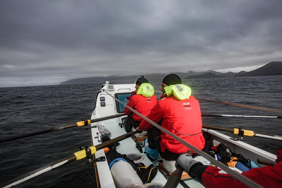 Fiann Paul ocean rowing aboard Polar Row reached Jan Mayen.jpg