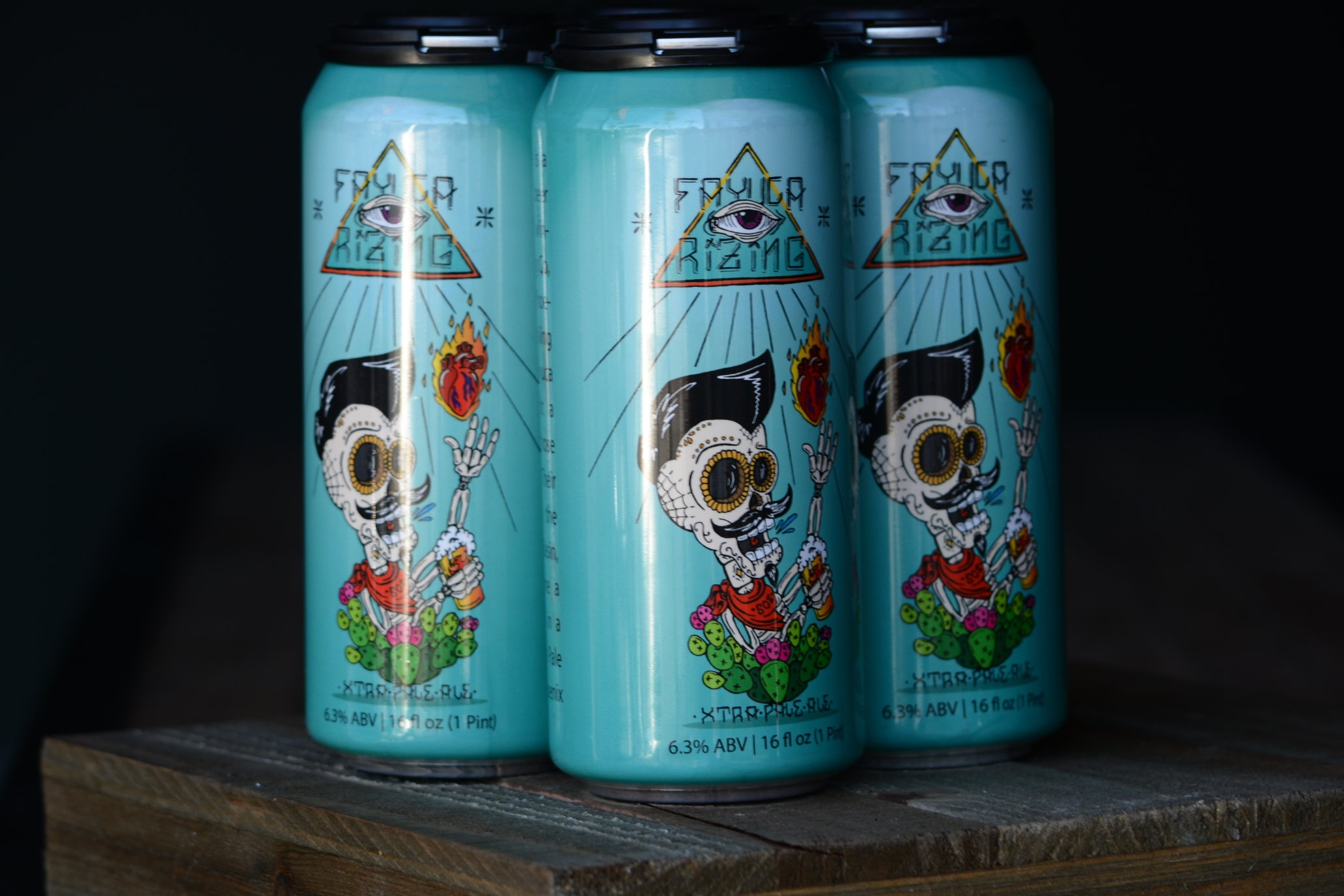 Fayuca Rizing Xtra Pale Ale - Ranked the #56 best beer in the world and #3 best American Pale Ale, this beer is brewed in collaboration with and specifically for local Phoenix band Fayuca!6.3% ABV 60 IBU