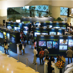 Designing a photo exhibition to remember, in Pacific Place.