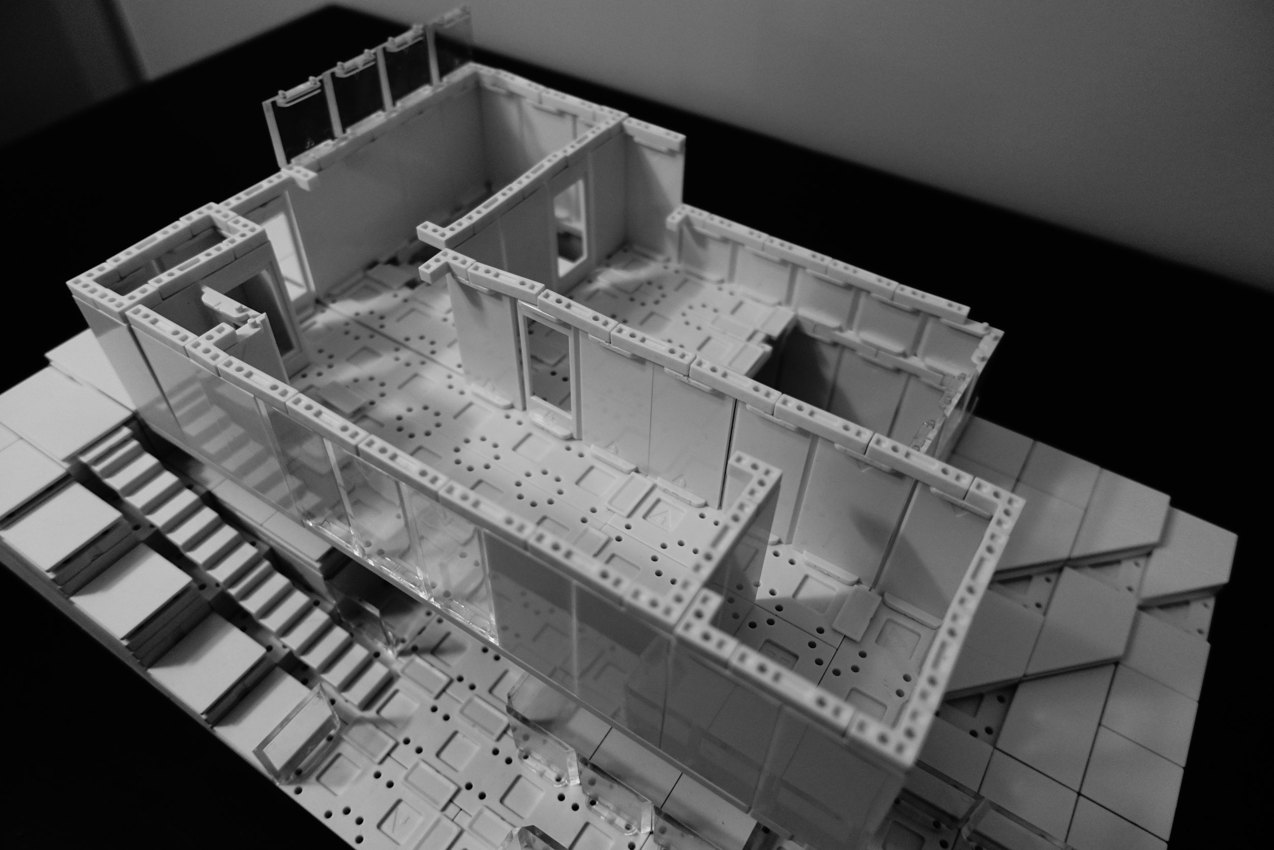 Creating the Top Floor Plan.