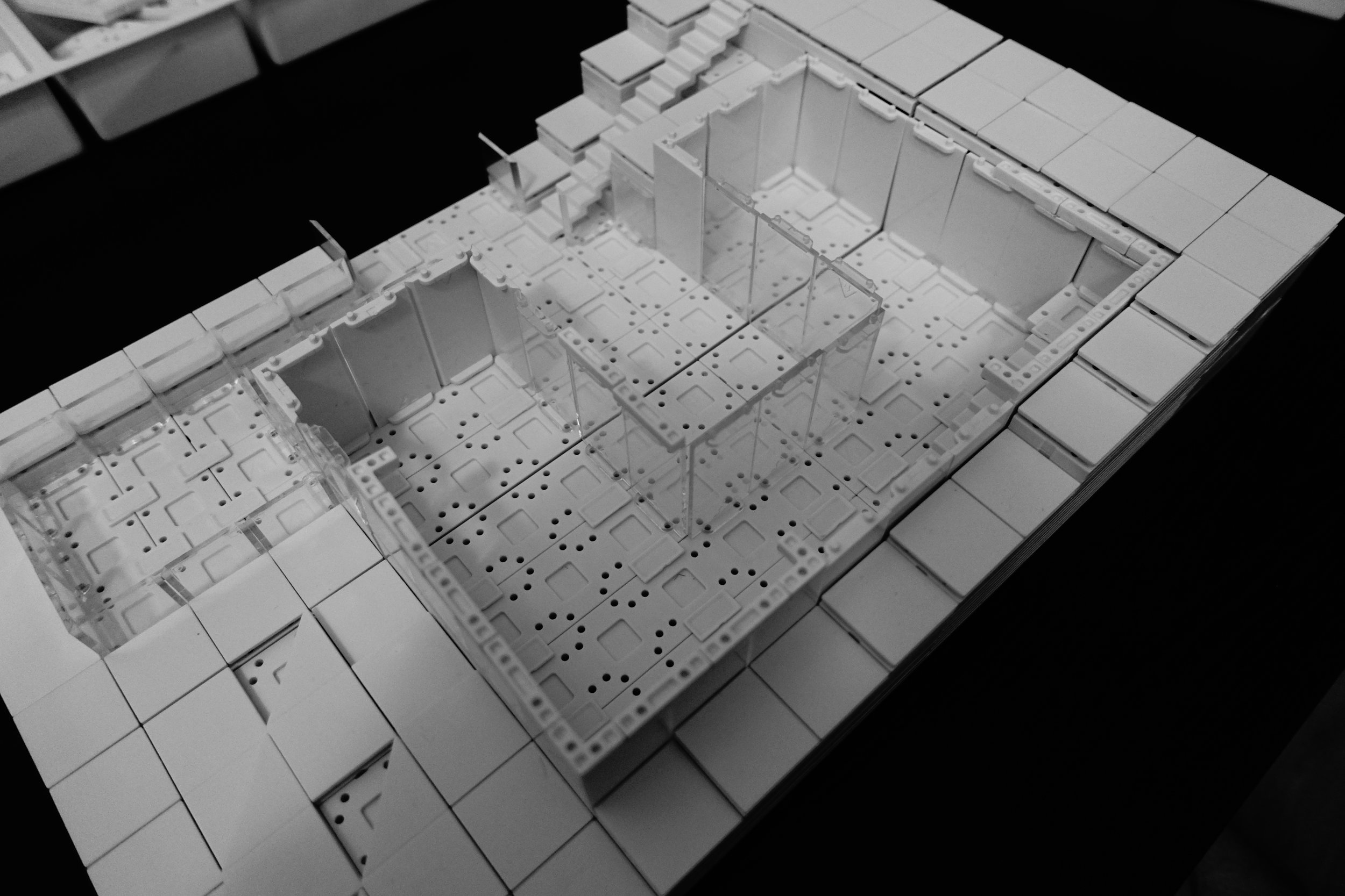 Creating the Lower Floor Plan.